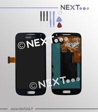 Schermo display touch screen biadesivo Samsung Galaxy S4 MINI i9195 blu + kit