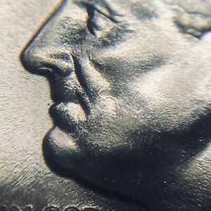 """1966 SMS Roosevelt Dime - """"5"""" on Cheek - NGC MS 68"""