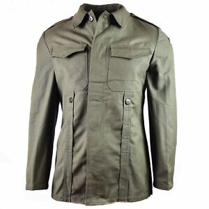 Genuine Original Vintage Bundeswehr German Army Moleskin Jacket, Size Small, NEW