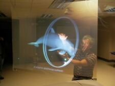 Transparant Holographic Rear Projection Screen Self Adhesive Display [50*50CM]