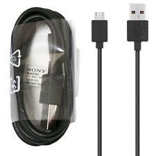 Genuine Sony EC803 Micro USB Cable De Datos Para Xperia Z5 Premium Compact Z1 Z2 Z3+