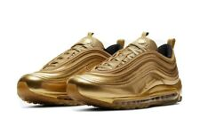 MENS SIZE 9 NIKE AIR MAX ATHLETIC SHOE - OLYMPIC GOLD COLOR