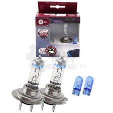 GE Set Xenon Look Lampe 2x H7 12V 55W PX26D MegaLight Ultra +90% + W5W Blue FD8