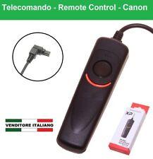 TELECOMANDO con filo per CANON 6D 5D 50D 40D 30D 20D 7D 1D S MARK I II RS-80N3