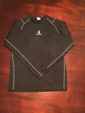 WolfBike Black Men's X-Large Athletic Cycling Long Sleeve Shirt. Tl7
