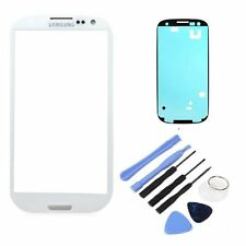 White Front Outer Lens Glass Screen Replacement For Samsung Galaxy S4 Mini i9190