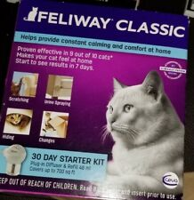 Feliway Classic 30 Day Starter Kit Calming Comfort Diffuser For Cats Exp 2024