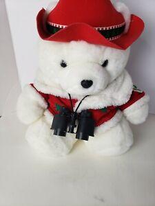 1995 Dayton Hudson Plush Santa Bear Spruce Up the Earth Conservation Corp