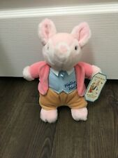Pigling Bland Plush Pig With Tags From Beatrix Potter By Eden