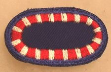 EARLY 12TH ENGINEER BATTALION CO C (AIRBORNE) PARA OVAL GAUZE BACK