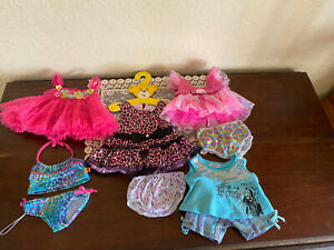 Build a Bear Clothes 9 Pieces Princess Dress  Outfit Lot