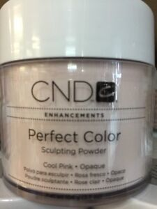 "CND PERFECT COLOR ""COOL PINK"" 3.7oz NAIL ENHANCEMENTS ACRYLIC LIQUID & POWDER"