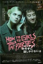 How to Talk to Girls at Parties Chirashi Mini Movie Poster Japan 2017 C1029