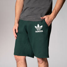 NEW Adidas Men's ADC F Trefoil Shorts Green LARGE Comfortable Gym, Run MSRP $69