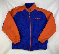 Nike Florida Gators Full Zip Up Jacket Men's Size XL Authentic Team Apparel