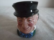 ROYAL DOULTON ~  MR MICAWBER ~  MINI  CHARACTER JUG  ~ D 6138 ~ 5.7 CM HIGH