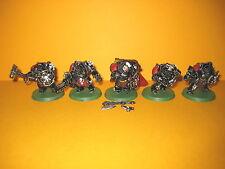 Space Wolves - 5x Wolf Guard Terminators - Wolfsgarde Terminatoren I