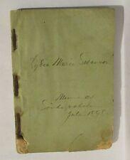 1887 Biblisk Historia for Hemmet Och Skolan owned by Lydia Maria Swenson