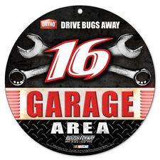 Greg Biffle 2015 Wincraft #16 Ortho/Roush Fenway Racing Garage Area Round Sign
