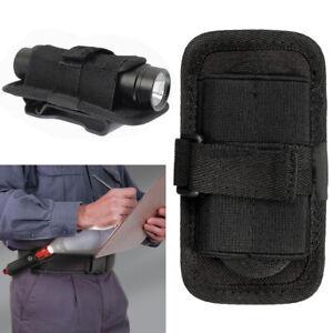 Nylon Holster Lampen-Tasche Etui Guerteltasche 17,5x5cm fuer LED Taschenlamp MUI