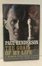 Paul Henderson  The Goal of my Life: A Memoir Hardcover Book