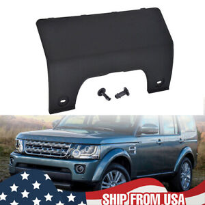 Rear Bumper Towing Eye Hook Cover For Land Rover LR3 LR4 DPO500011PCL Black