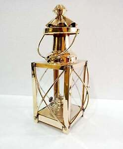 "Nautical Vintage 12"" Ship Lamp Boat Oil Lantern Maritime Collectible Home Decor"