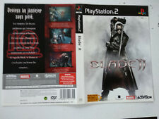 Jaquettes/Front-Back Blade 2 Sony Playstation PS2 FR