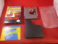 Lemmings (Nintendo Entertainment System, 1992) NES COMPLETE w/ Box manual game