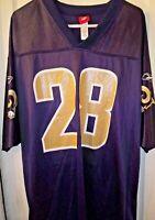 Men's Reebok - St Louis Rams - Marshall Faulk #28 - NFL Jersey (Size XL) *EUC*