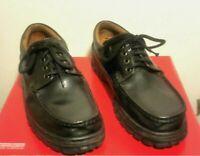 Ping scarpe stringate uomo in pelle di colore nero N°41