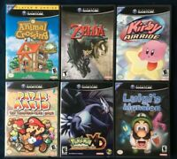 Original 100% Authentic Nintendo GameCube CASE & ARTWORK ONLY - NO GAME