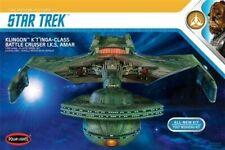 Round 2 Polar Lights 1:350 Star Trek Klingon K't'inga New in Box