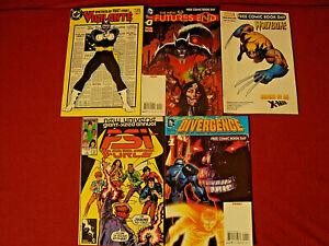 VIGILANTE WOLVERINE PSI FORCE NEW 52 FUTURES END DIVERGENCE 4 MARVEL/DC COMICS