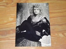 BONNIE TYLER - SILHOUETTE IN RED (BMG GERMANY) / RARES PROMO-PHOTO (FOTO) 1993