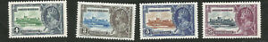 1935 British Honduras Famous Silver Jubilee George V Mint Stamps