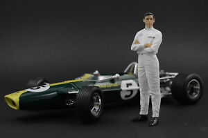 Jim Clark Figure for 1:18 Lotus-Ford Exoto  !! NO CAR !!