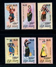 N.673-Vietnam- Vietnamese ethnic costumes set 6 1993
