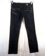 euc Rock & Republic ladies Costello USA Stretch Denim Jeans straight skinny 26
