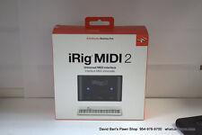 IK Multimedia iRig Midi 2 Universal Interface NEW