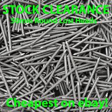 50mm Bright Round Lost Head Wire Nails - bright steel pins