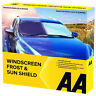 AA Car Windscreen Snow Frost Protector Shield Cover Ice Snow Anti-frost