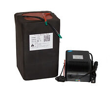 72v volt 30ah Lithium ion Battery Pack for e Bike 2000W Kit with Charger BMS