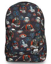 NWT Loungefly Star Wars Darth Vader Dark Side Tattoo Print Backpack