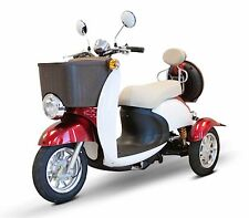 Red & White EWheels EW-11 Sport Electric Scooter, 3 Wheels, 18 mph, 2 Riders