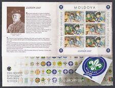 Europa Cept 2007 Moldova  booklet ** mnh (A1751)