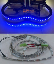 Parrot AR Drone 2.0 1.0 Blue LED Light Strip For Indoor Hull & Power Patch Cord