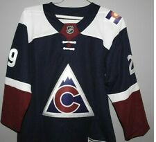 NHL Authentic #29 Colorado Avalanche Hockey Jersey New Youth L/XL MSRP $100