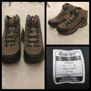 Hi-Tec Utah II Hiking Boots Men's Size 10 Brown Waterproof Inv#Z3082