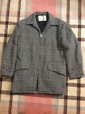 Vintage Brent Sportsman Grey Wool Hunting Jacket Size 38 M Union Made!!!